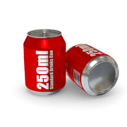 Drinks Can - 250ml Standard 3d model