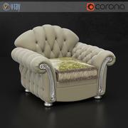 威尼斯SAT扶手椅 3d model