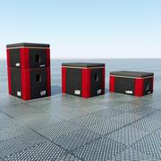 UCS Mjuka Plyo-lådor 3d model