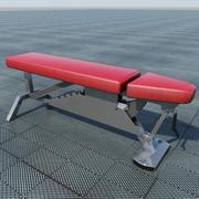 Banco de levantamiento de pesas 1 modelo 3d
