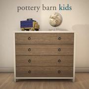 Pottery Barn-JordanDresser 3d model