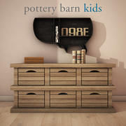 PotteryBarn - Low crate storage 3d model