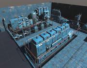 Machinery models pack 3d model