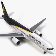 Boeing 757-200 UPS Airlines 3D 모델 3d model