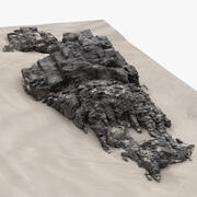 Rock 3D Scan 21 3d model