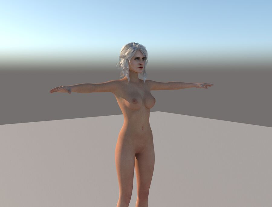 Nude witcher 3 ciri is there
