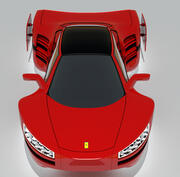 ML1 Concept Car - Maglev 3d model