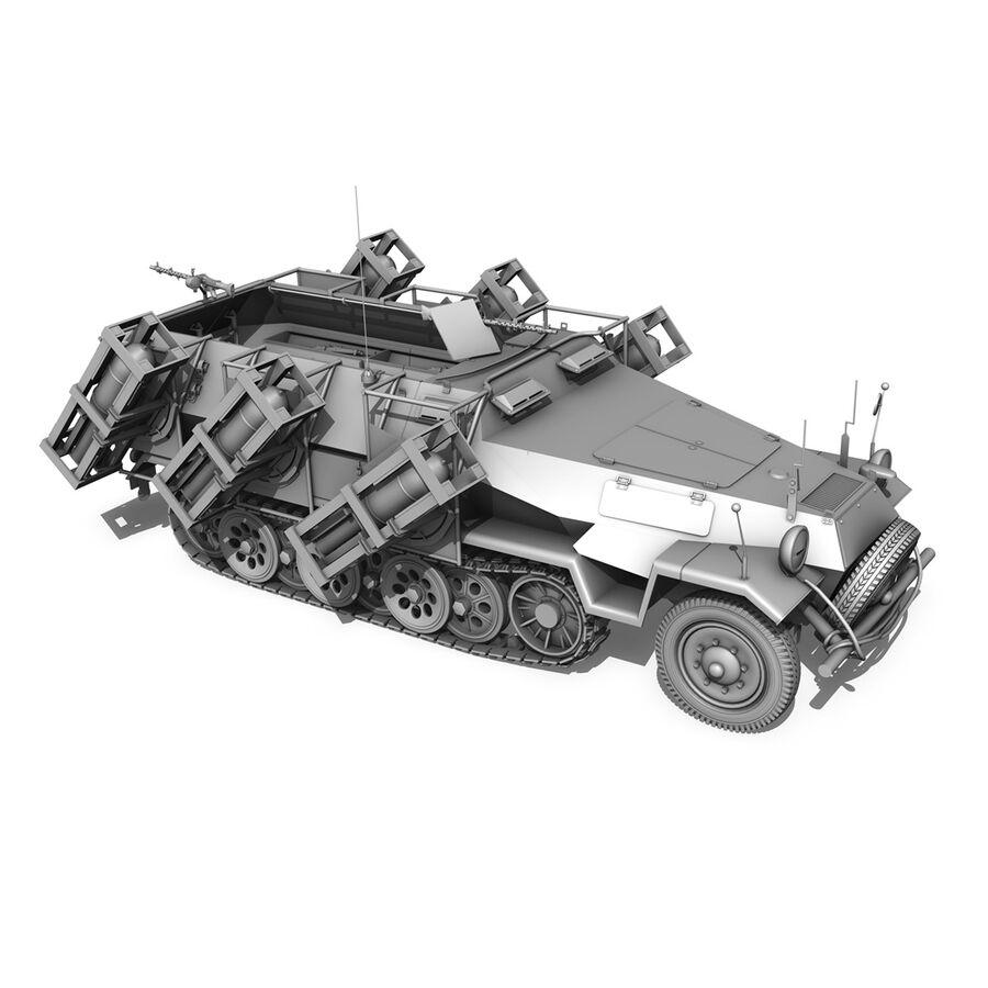 SD.KFZ 251/1 Ausf.B - Walking Stuka - 11PD royalty-free 3d model - Preview no. 13