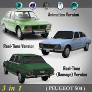 3 в 1 (PEUGEOT 504) 3d model