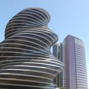Framtida stadsbild Big HD City 2018 3D-modell 3d model