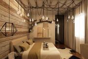 sypialnia przemysłowa 3d model