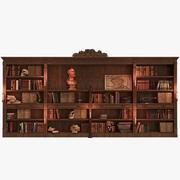Mittelalterliche Bibliothek 3d model