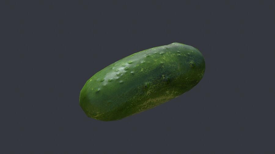 Cibo: frutta e verdura royalty-free 3d model - Preview no. 10