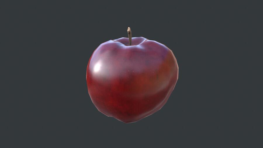 Cibo: frutta e verdura royalty-free 3d model - Preview no. 2