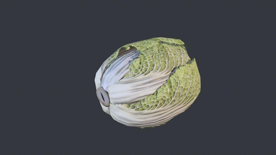 Cibo: frutta e verdura royalty-free 3d model - Preview no. 6
