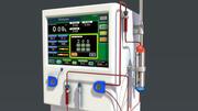 透析装置 3d model