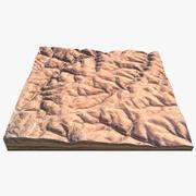 Desert Hills 3d model