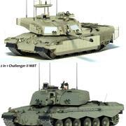 Challenger 2 MBT 3d model