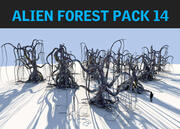 ALIEN FOREST PACK 14 3d model