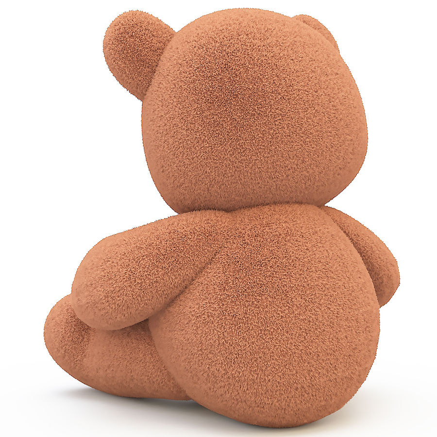 orsacchiotto di peluche royalty-free 3d model - Preview no. 4