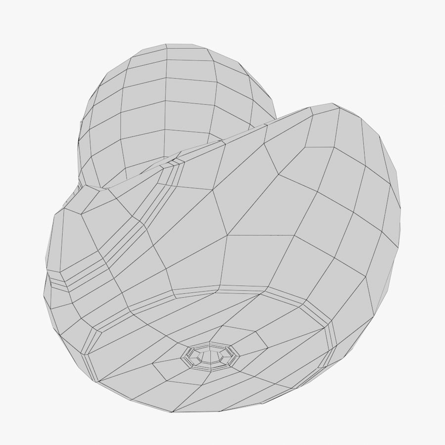 Rubber Duck 01 royalty-free 3d model - Preview no. 11