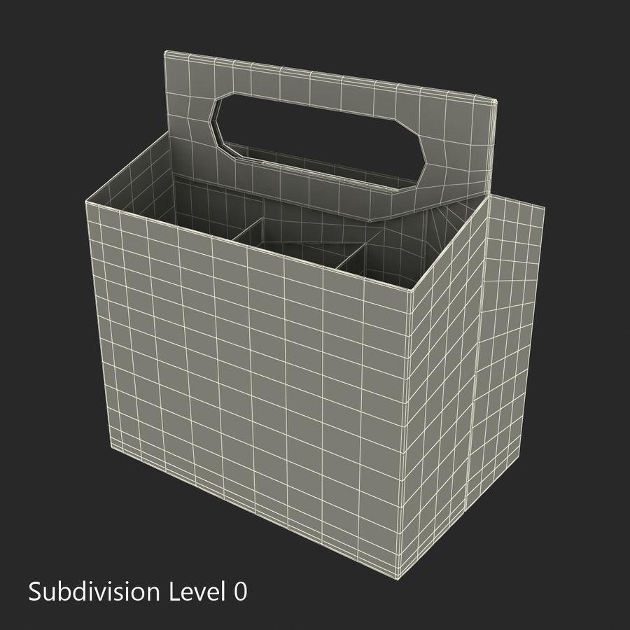 6 Pack Bottle Holder 3D模型 royalty-free 3d model - Preview no. 14