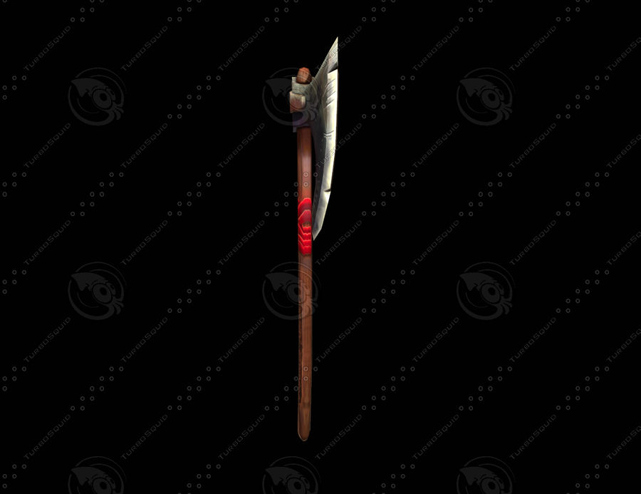전쟁 도끼 royalty-free 3d model - Preview no. 4