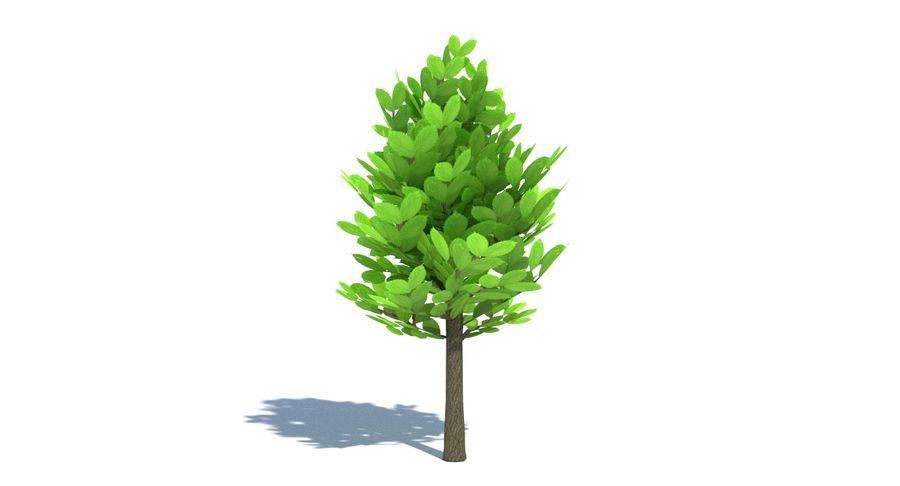 Cartoon Tree Small royalty-free 3d model - Preview no. 5