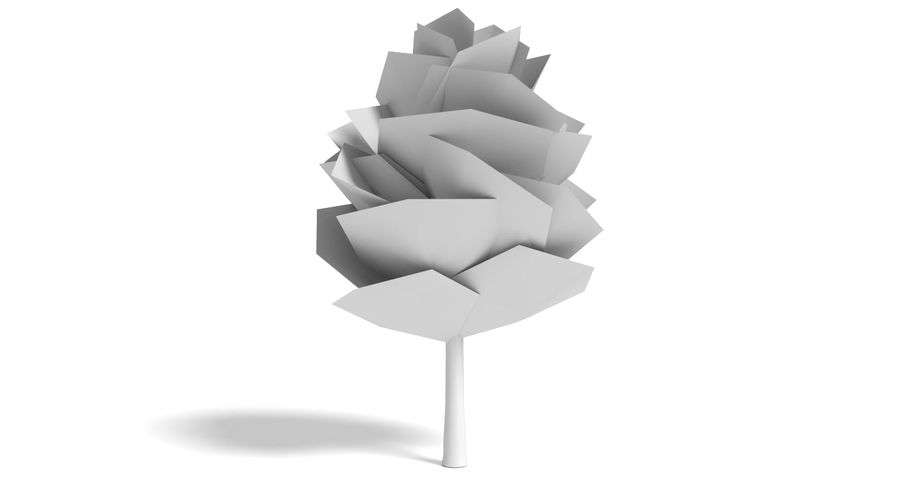 Cartoon Tree Small royalty-free 3d model - Preview no. 8