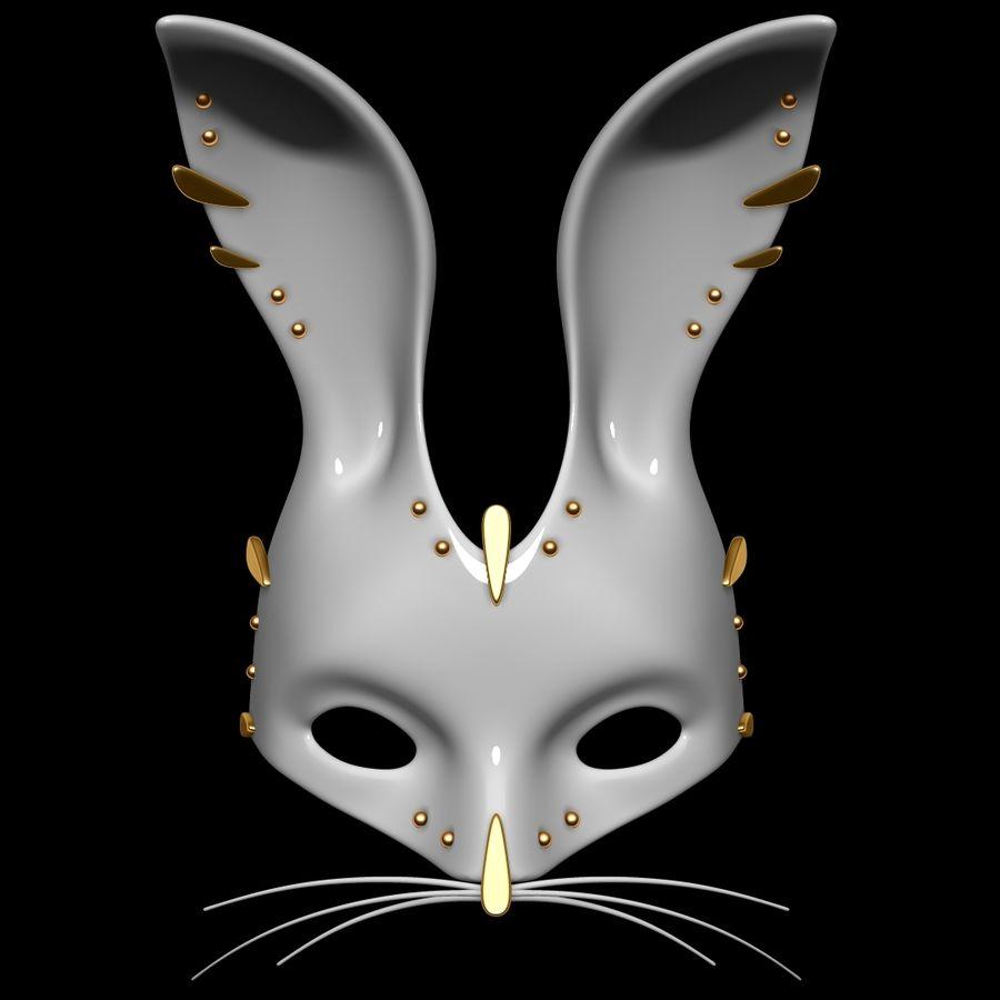 Tavşan Maskesi royalty-free 3d model - Preview no. 1
