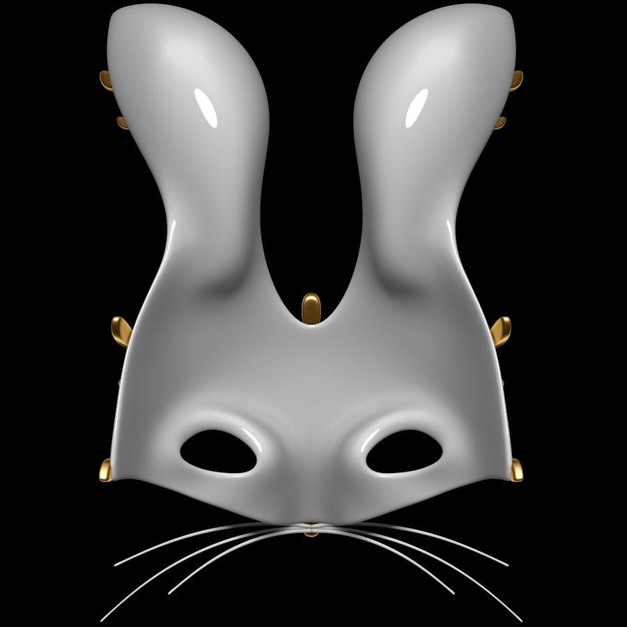 Tavşan Maskesi royalty-free 3d model - Preview no. 4