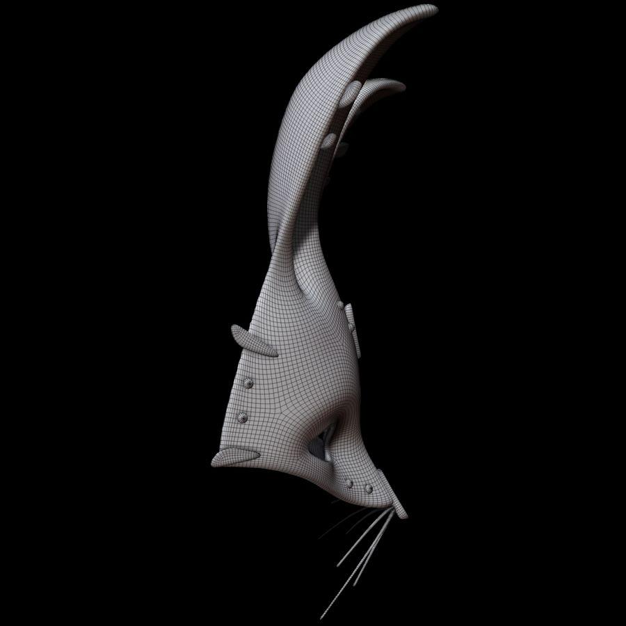 Tavşan Maskesi royalty-free 3d model - Preview no. 12