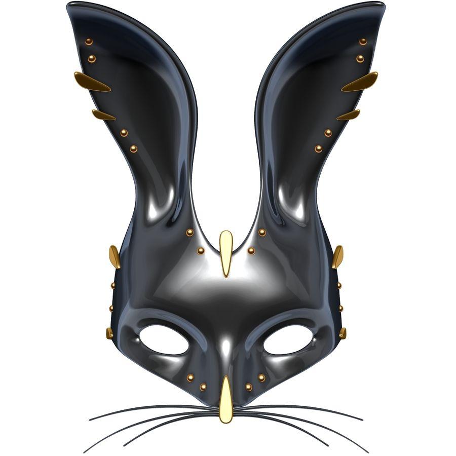 Tavşan Maskesi royalty-free 3d model - Preview no. 8