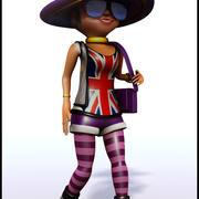 Diva Cartoon 3d model