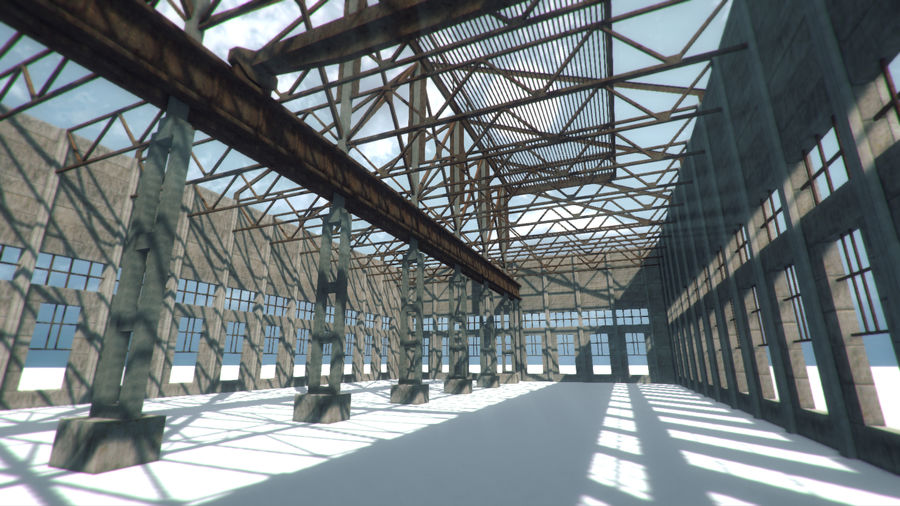 Unfinished Construction royalty-free 3d model - Preview no. 8