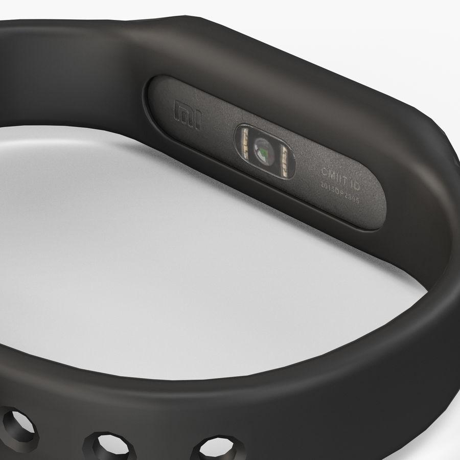 Rastreador de atividades de fitness Xiaomi Mi Band Pulse 1S royalty-free 3d model - Preview no. 4