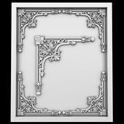 Corner element 28 3d model