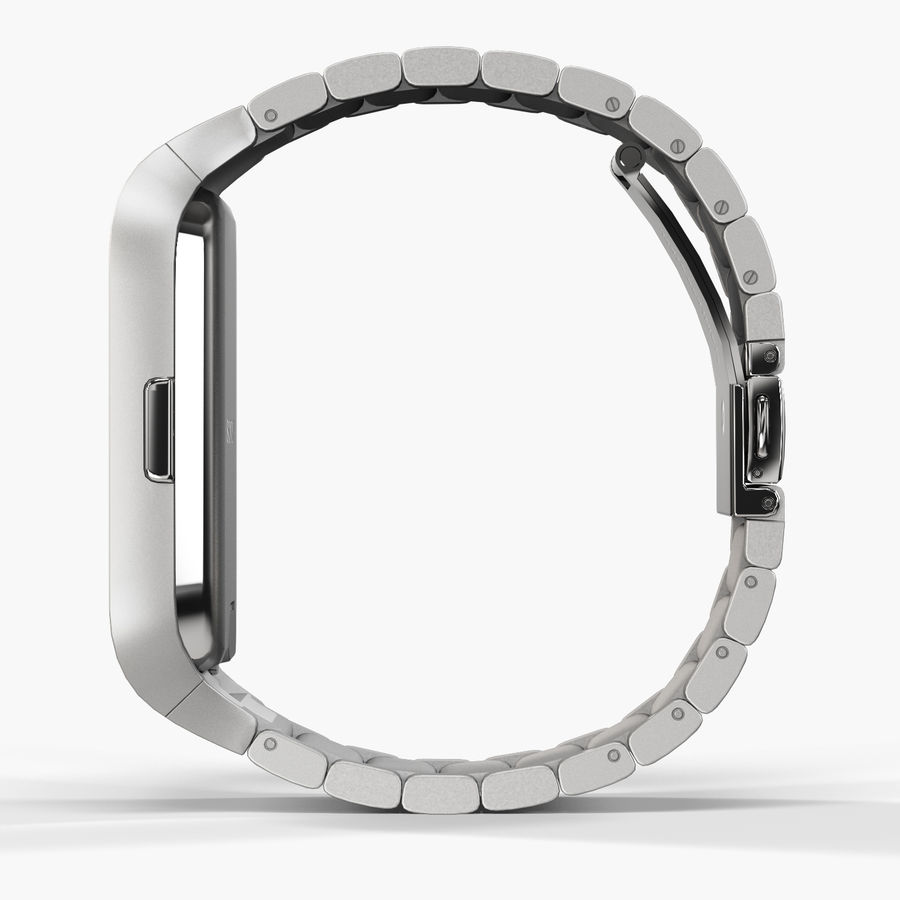 Sony SmartWatch 3 Silver royalty-free 3d model - Preview no. 5