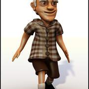 Old Man Cartoon 3d model