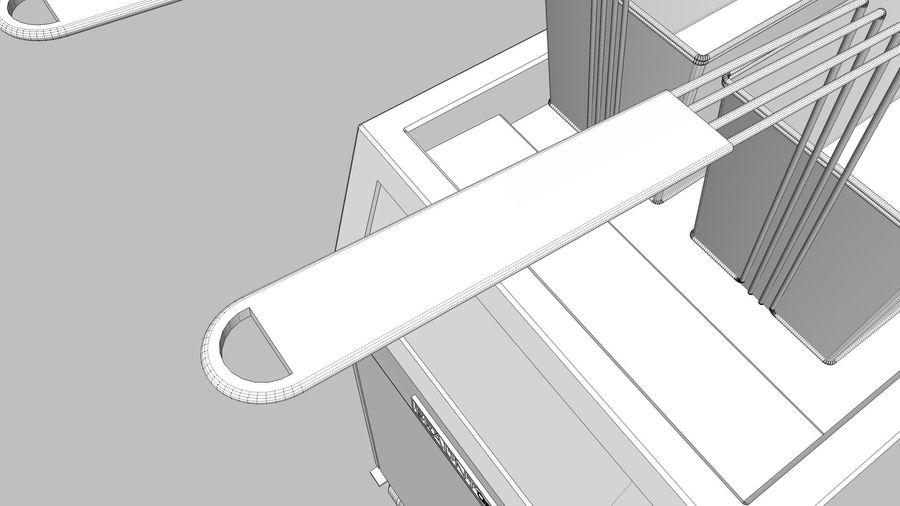 Ristorante Friggitrice royalty-free 3d model - Preview no. 17