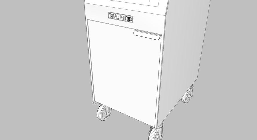 Ristorante Friggitrice royalty-free 3d model - Preview no. 20