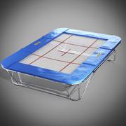 Jimnastik trambolin 3d model
