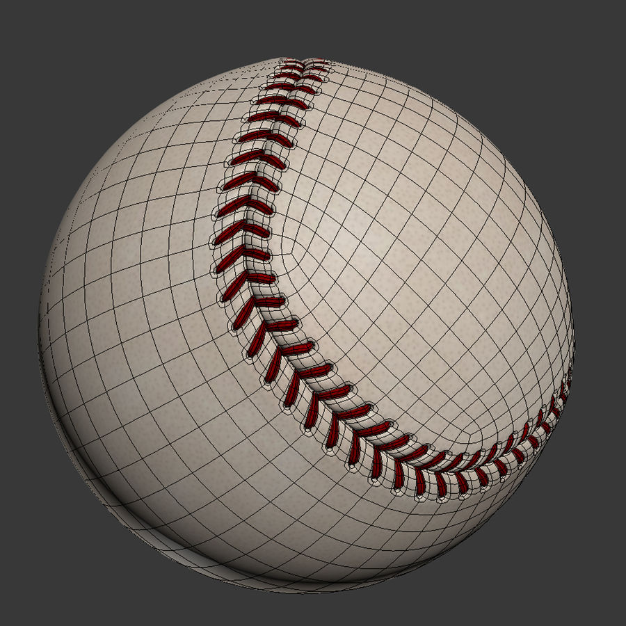 Baseball Glove Pack royalty-free 3d model - Preview no. 8