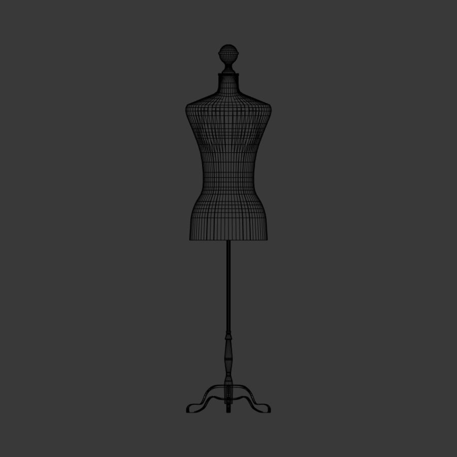 Stockman Mannequin royalty-free 3d model - Preview no. 4