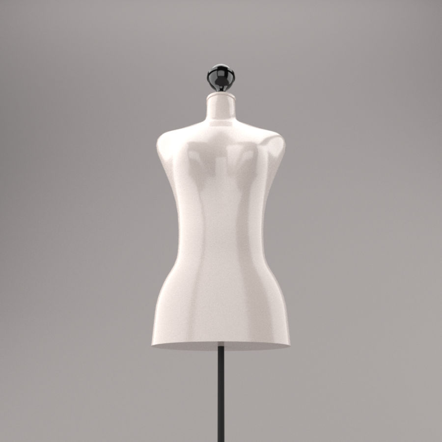 Stockman Mannequin royalty-free 3d model - Preview no. 2