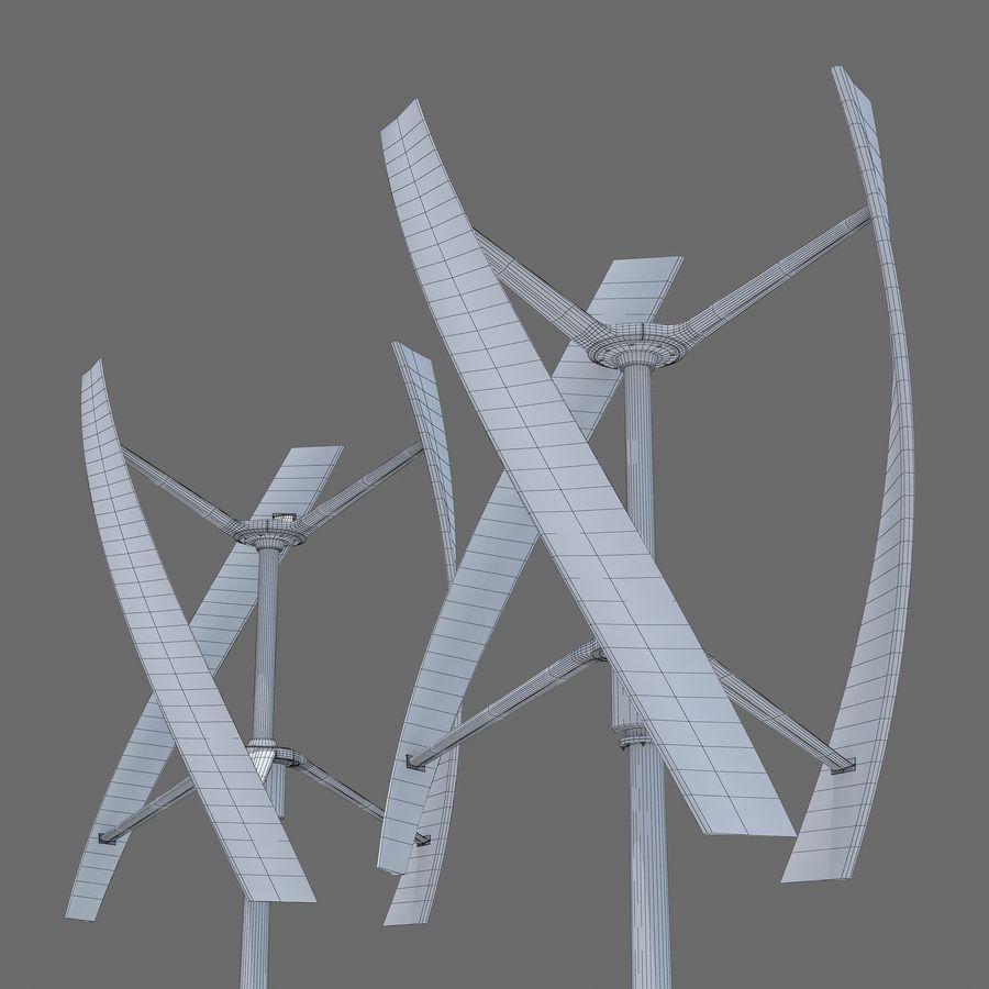 Windgenerator royalty-free 3d model - Preview no. 9