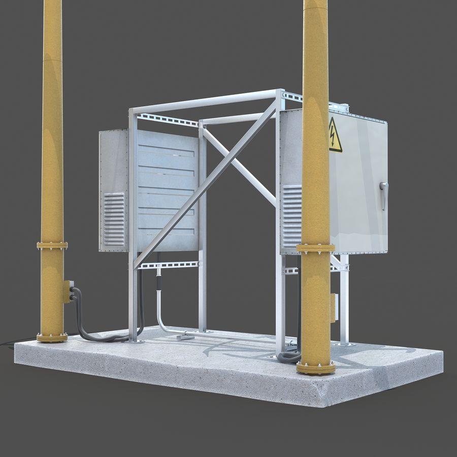 Windgenerator royalty-free 3d model - Preview no. 2