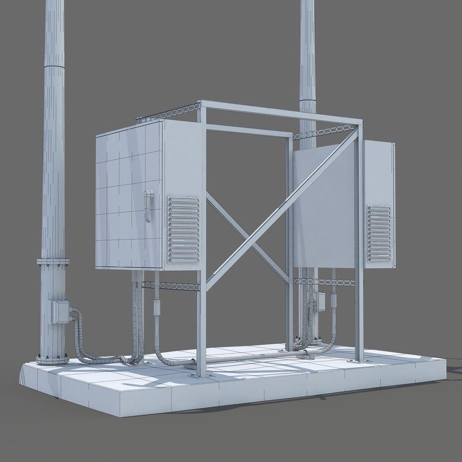 Windgenerator royalty-free 3d model - Preview no. 10