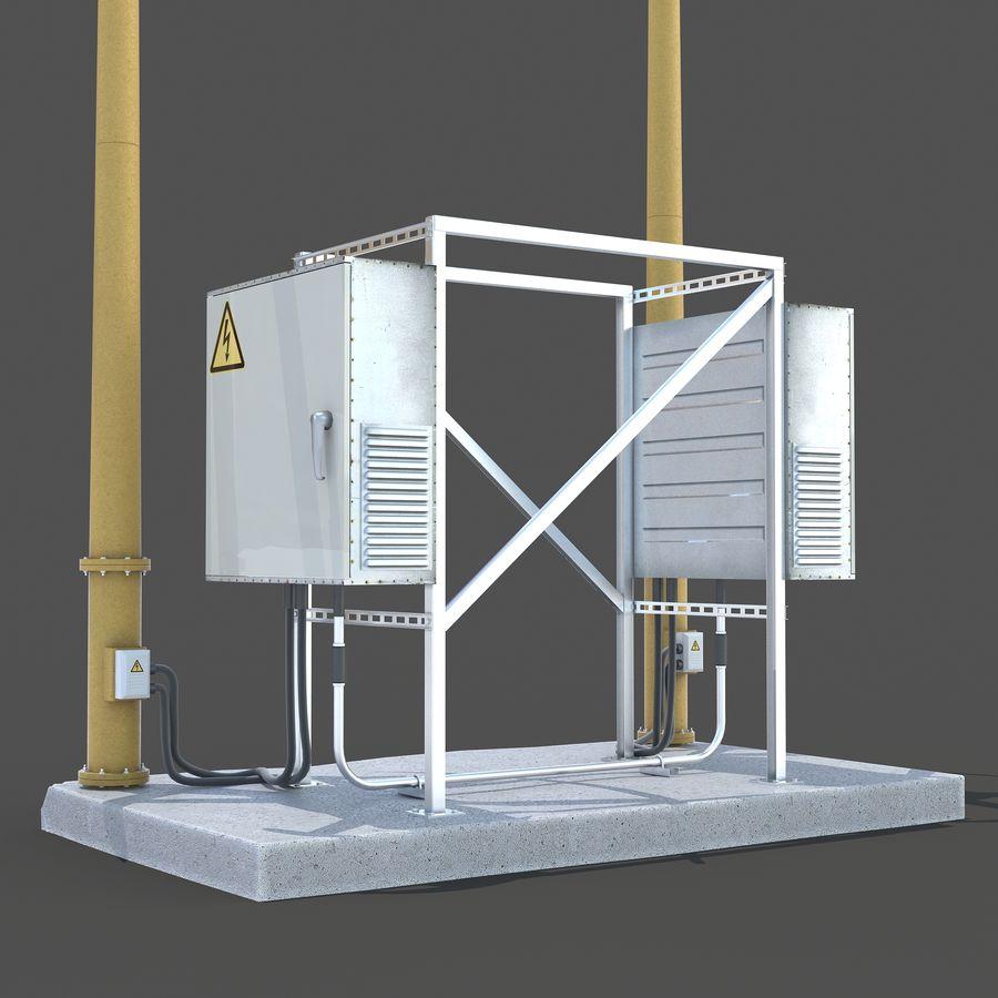 Windgenerator royalty-free 3d model - Preview no. 5
