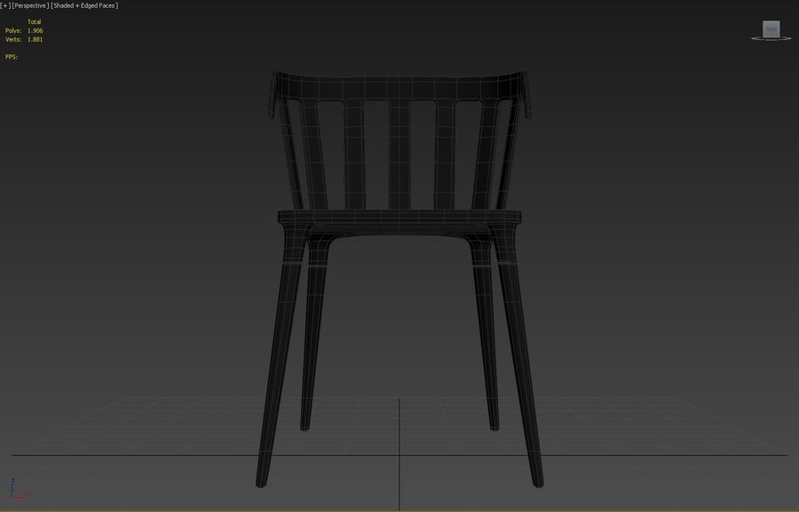ikea Ps royalty-free 3d model - Preview no. 10